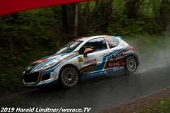 Alois Handler/Andreas Scherz Peugeot 207 RC.