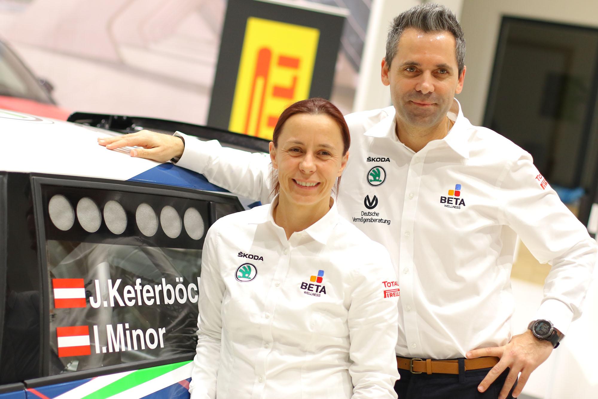Vorjahressieger Johannes Keferböck mit Co. Ilka Minor