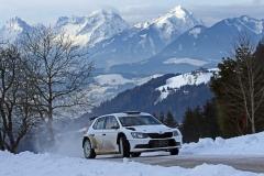 BRR Testfahrt Gerhard Aigner Skoda Fabia R5