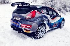 Ford Fiesta R5 von Hermann Neubuer Test vor Jännerrallye
