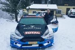 Hermann Neubauer Ford Fiesta R5 Test vor Jännerrallye 1