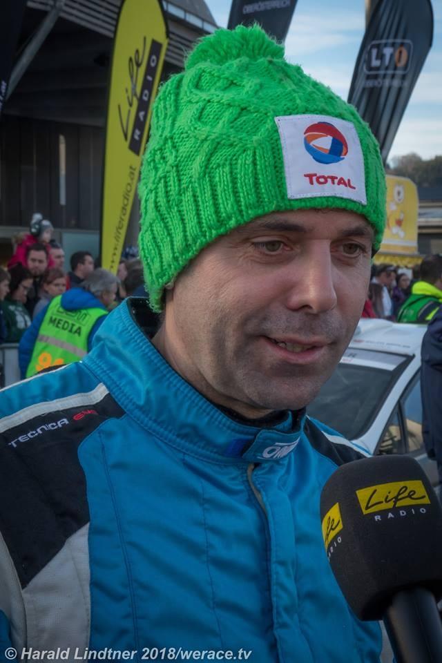 Glücklicher Sieger der Jännerrallye 2018 - Johannes Keferböck