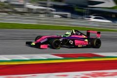 Stefan Fürtbauer auf dem Weg zum Formel 4 Sieg am Red Bull Ring