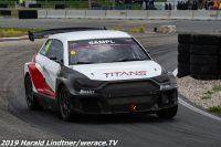 Reihnhold Sampl bei dem TITANS RX Test Event in Fuglau
